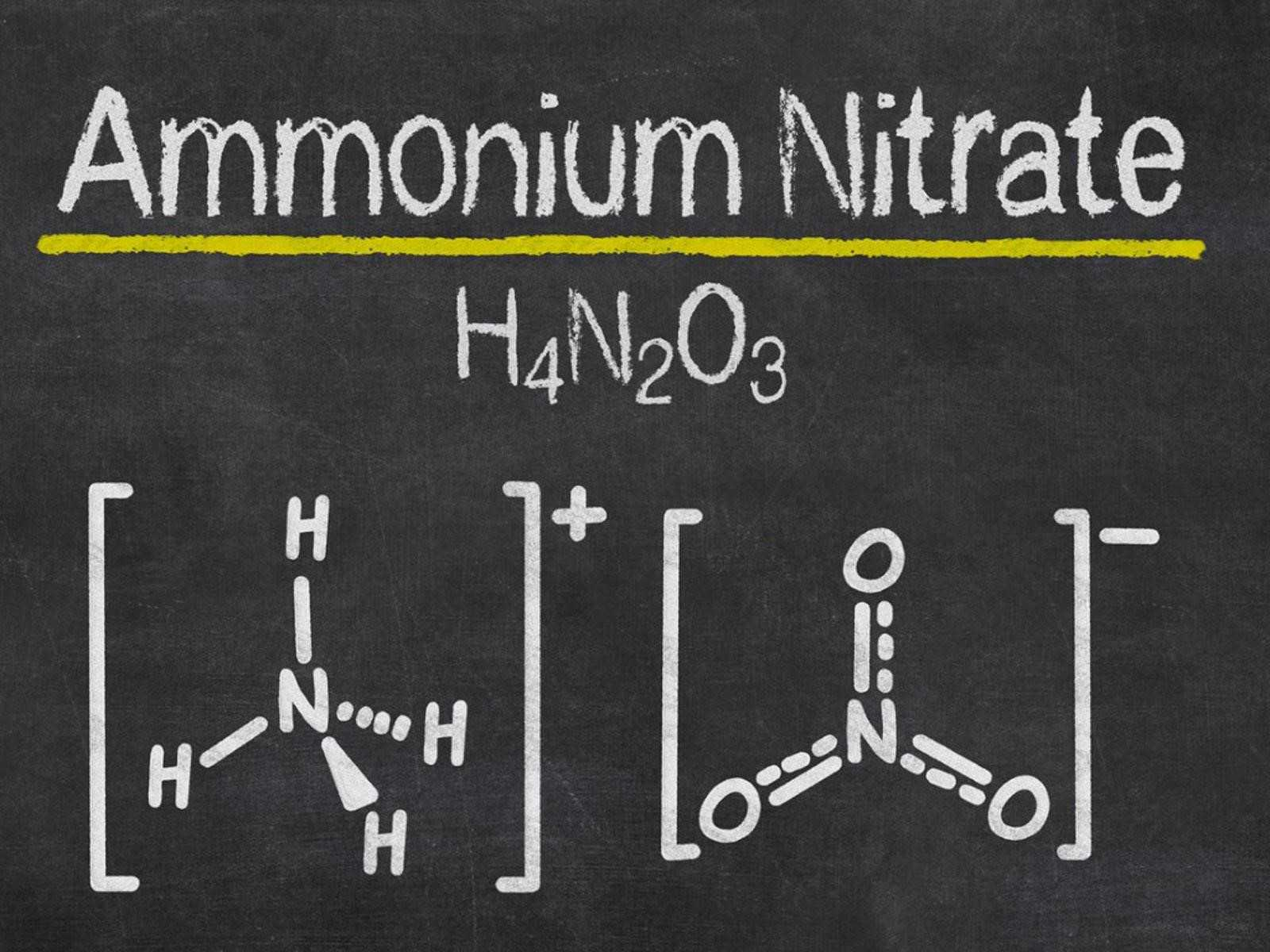 Ammonium Nitrate Formula